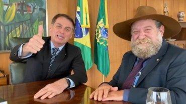 Barbudo e Bolsonaro