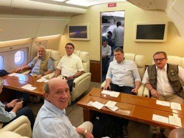 Avião - Bolsonao
