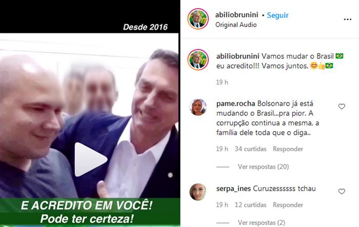 Abilio e Bolsonaro