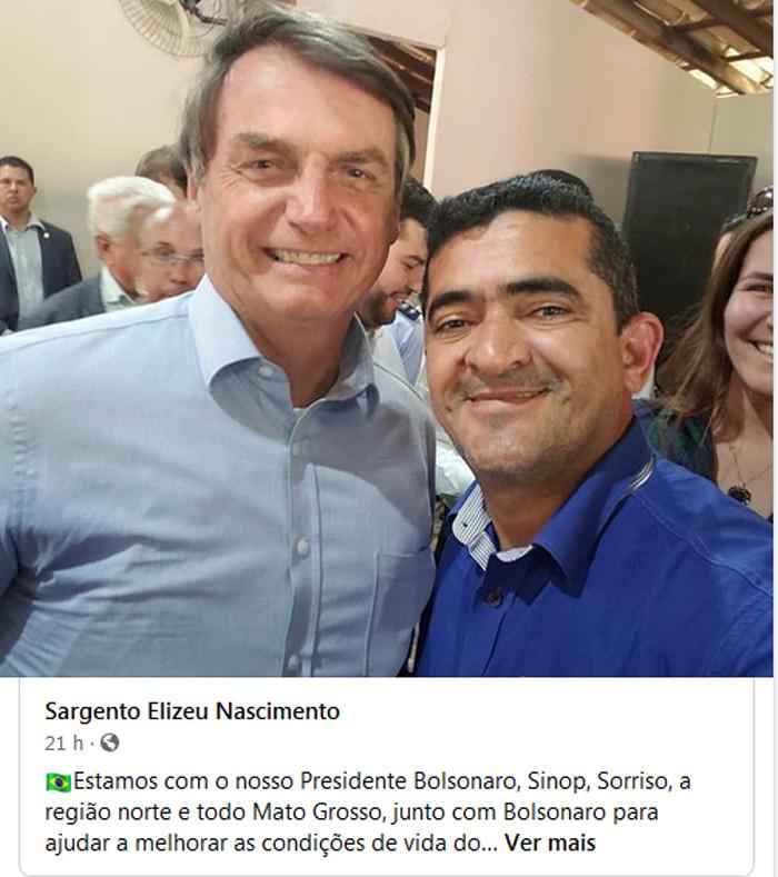 Elizeu e Bolsonaro