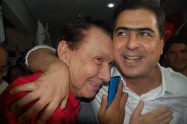 Carlos Bezerra e Emanuel Pinheiro