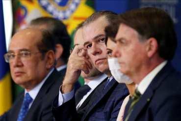 Gilmar e Bolsonaro