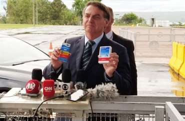 Bolsonaro e cloroquina