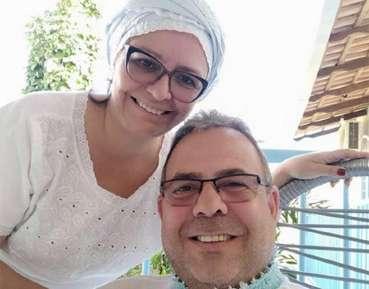Jupirany e esposa
