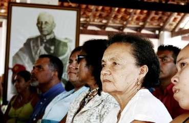 População sempre reverencia Rondon